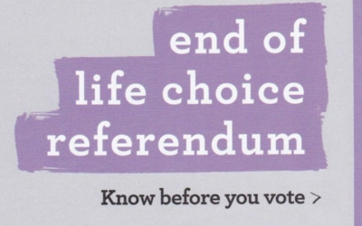 """End of Life Choice"" flyer ""misleading and biased"""